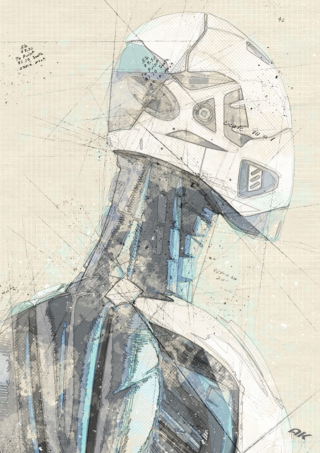 cyborg-robot-drawing-14-copyright-andrew-knutt