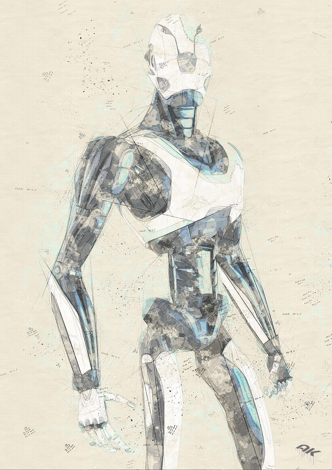 cyborg-robot-drawing-15-copyright-andrew-knutt