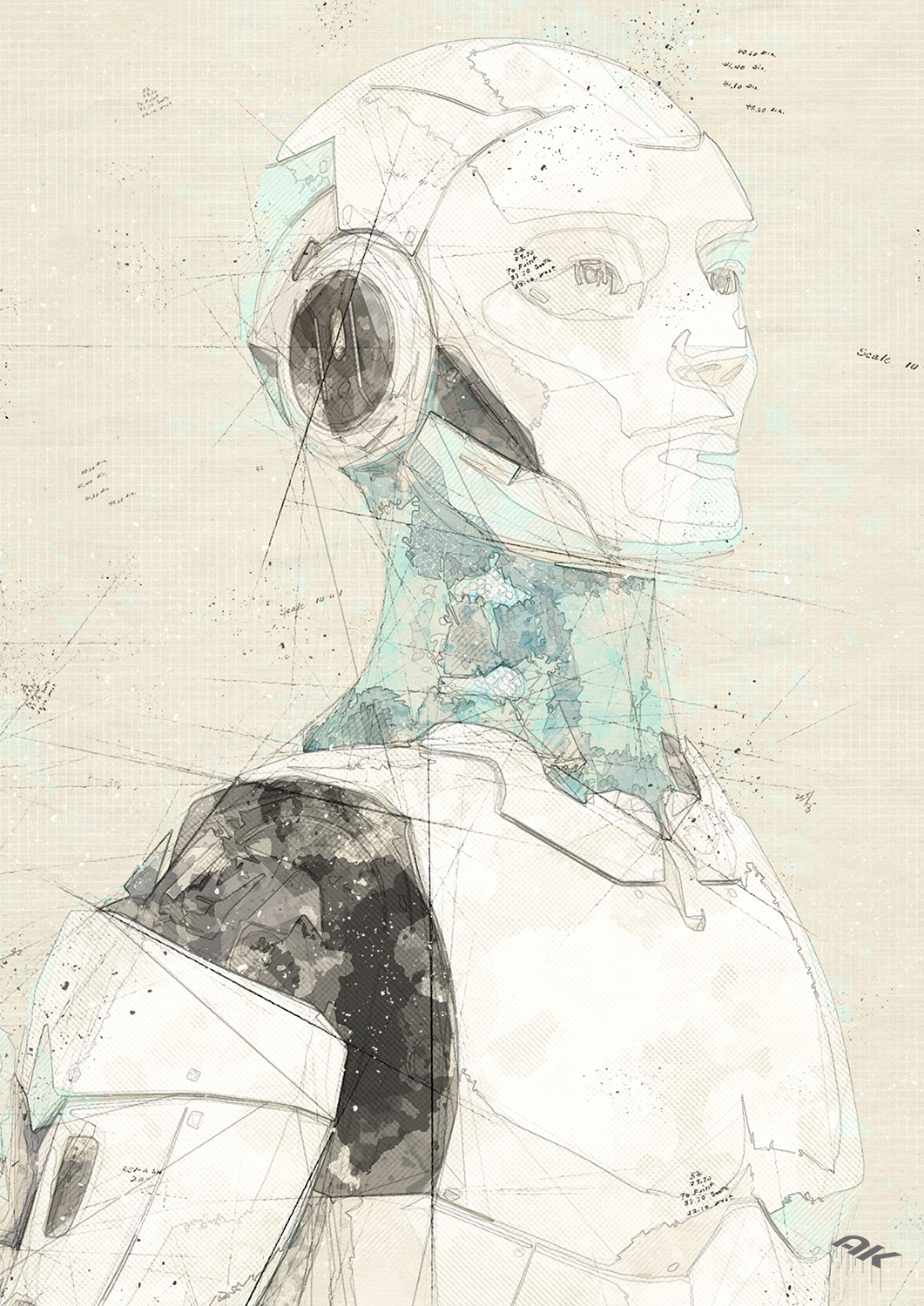 cyborg-robot-drawing-13-copyright-andrew-knutt