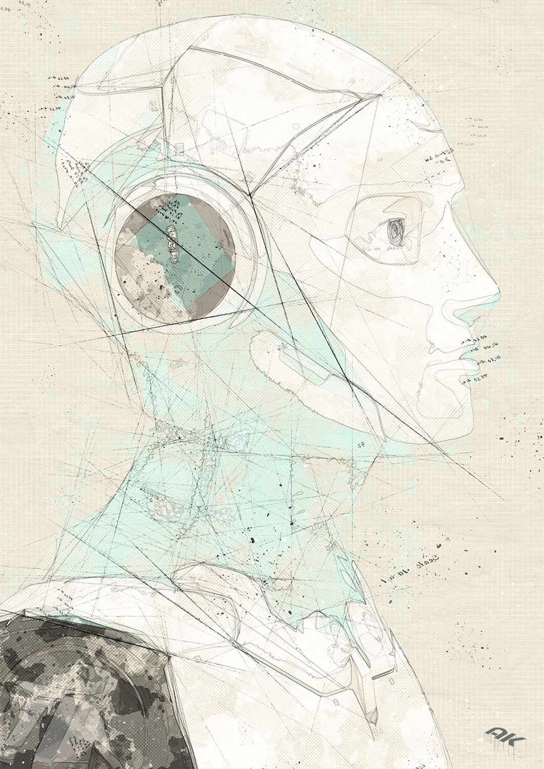 cyborg-robot-drawing-16-copyright-andrew-knutt
