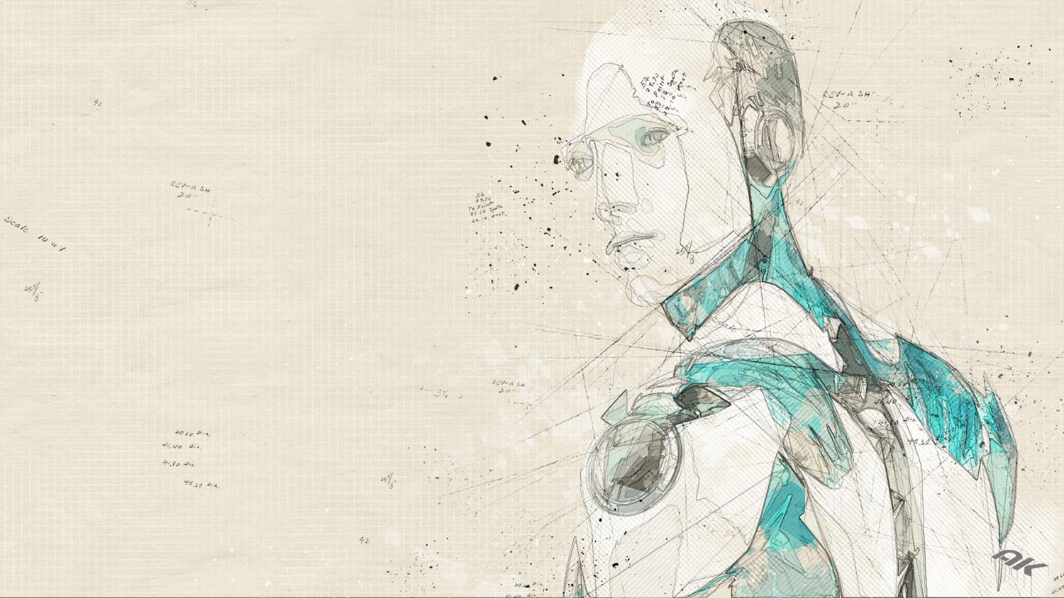 cyborg-robot-drawing-17-copyright-andrew-knutt