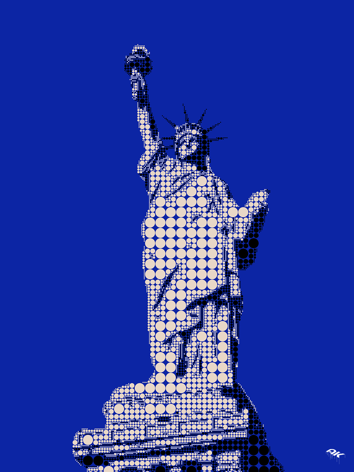 dots-statue-of-liberty-copyright-andrew-knutt