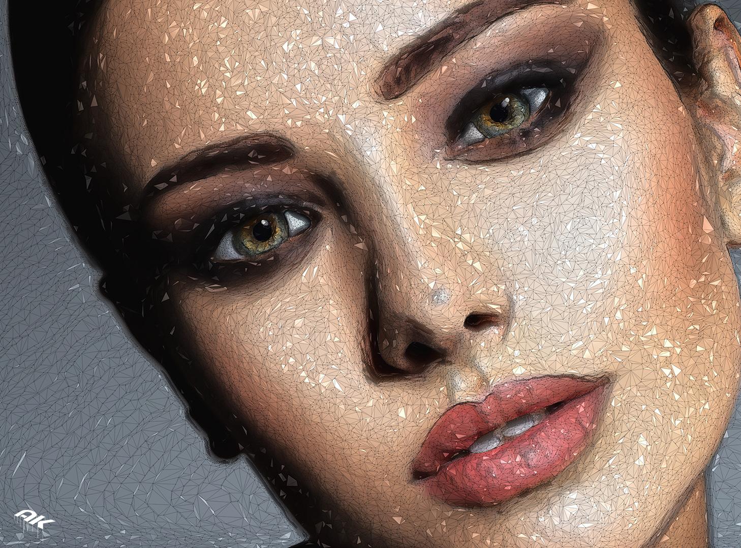 Woman makeup beautiful portrait face fashion